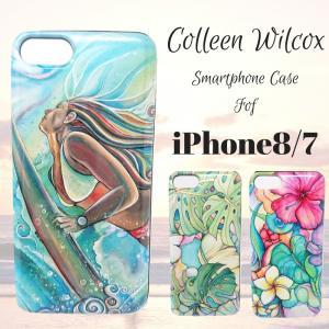 iPhone8 7 スマホケース おしゃれ ハワイ コリーンウィルコックス|stylemartnet