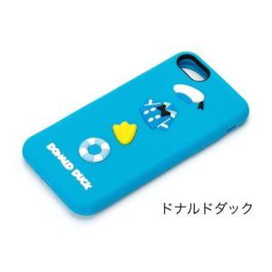 iPhone7 ケース ドナルドダック ペアギフト シリコン ケース ディズニー 人気 iPhone ケース|stylemartnet