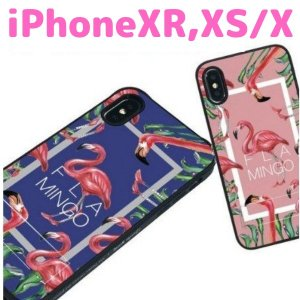 iPhoneXS iPhoneXR ケース 大人かわいい おしゃれ フラミンゴ iPhoneX|stylemartnet