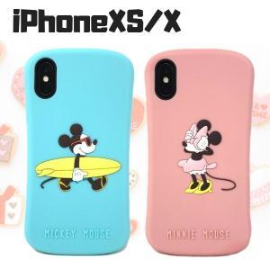 ディズニーキャラクターケース iPhoneXS iPhoneX カバー シリコンケース ミッキー ミニー|stylemartnet