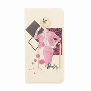 らくらくスマートフォン4 バービー 手帳型ケース カード入れ|stylemartnet