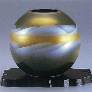 【期間限定価格】九谷焼 5.5号花瓶 オリベ連山 stylence