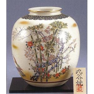 九谷焼 8号花瓶 竹雉 stylence