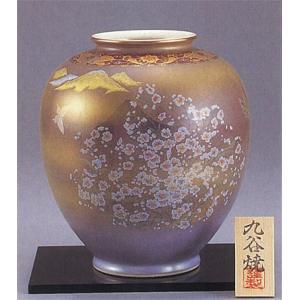 九谷焼 8号花瓶 かすみ草|stylence