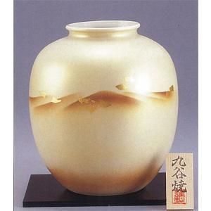 九谷焼 8号花瓶 金箔連山|stylence