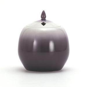 九谷焼 徳田八十吉 香炉 彩釉紫|stylence