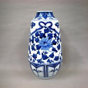 8号寸胴花瓶 牡丹唐草|stylence