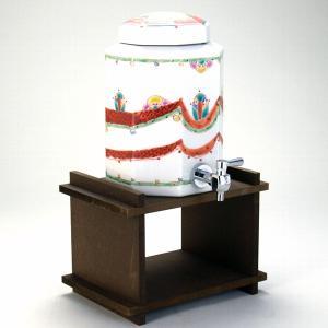 八角焼酎サーバー 野道 (木製専用置き台付き)|stylence