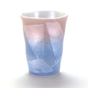 九谷焼 焼酎タンブラー 銀彩紫青|stylence