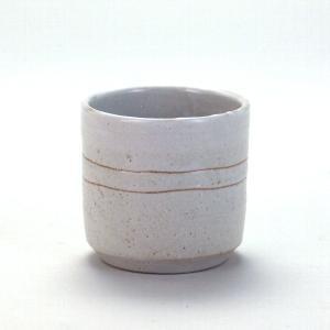 九谷焼 ロックグラス 彫刻白釉|stylence