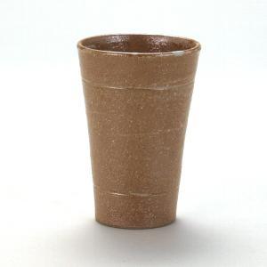九谷焼 焼酎タンブラ− 彫刻黄瀬戸釉|stylence