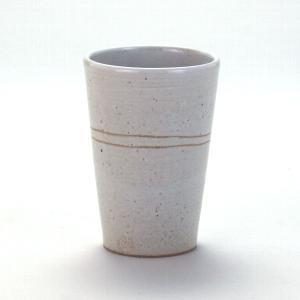 九谷焼 焼酎タンブラ− 彫刻白釉|stylence