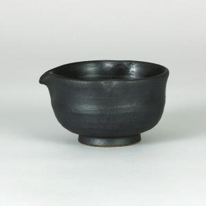 九谷焼 片口鉢一合 黒釉焼〆|stylence
