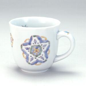 九谷焼 マグカップ 花と蝶|stylence
