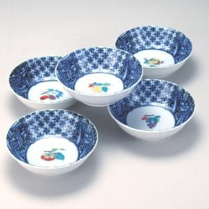 4.5号小鉢揃 染小紋果実|stylence