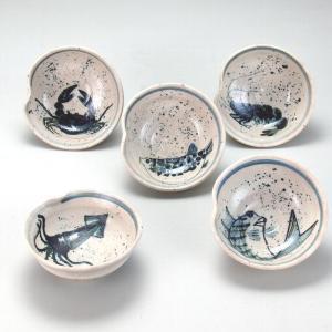 4号小鉢揃 海の幸|stylence