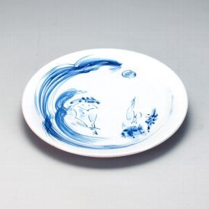 九谷焼 8.5号皿 かっぱ|stylence