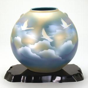 九谷焼 7号花瓶 雲海鶴|stylence