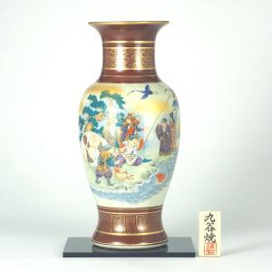 九谷焼 【送料無料】  14号花瓶 七福神|stylence