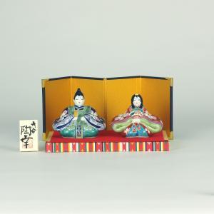 3号雛人形 紺赤桜紋|stylence