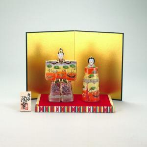 5号立雛人形 紅黄盛|stylence