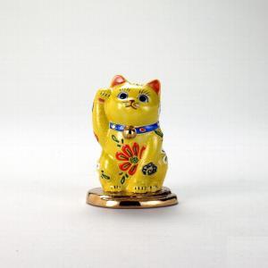 3号小判乗り招猫 黄盛|stylence