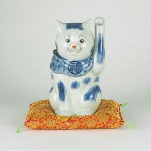 10号招猫(布団付) 染付|stylence