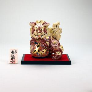 5号立獅子(台、木札付) 盛|stylence