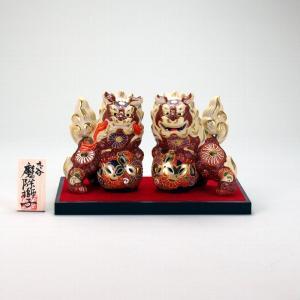 4.5号対獅子(台、木札付) 盛|stylence