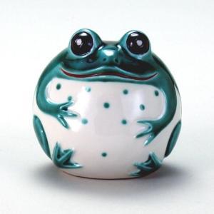 2.8号かえる 緑釉 stylence