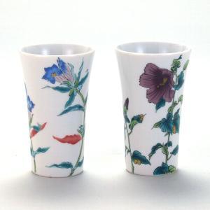 ペアフリーカップ リンドウと木槿 stylence