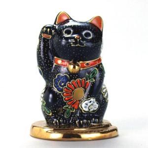 3号小判乗り招猫 黒盛|stylence