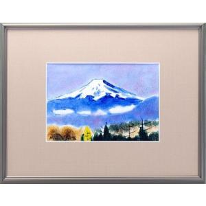 九谷焼 陶額 富士山|stylence