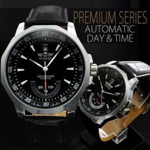 自動巻き 腕時計 メンズ 送料無料 1年保証 バックスケルトン 仕様 ビッグフェイス 自動巻き 腕時計 BOX 保証書付き WT-PR 0925|styleon