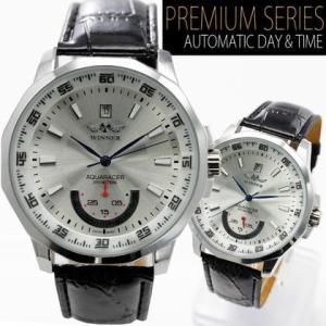 自動巻き 腕時計 メンズ 送料無料 1年保証 バックスケルトン 仕様  ビッグフェイス 自動巻き 腕時計 BOX 保証書付き WT-PR 0725 0125|styleon