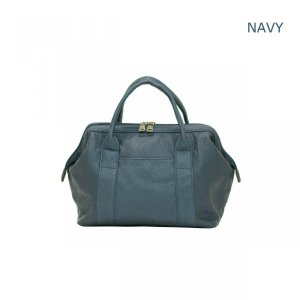 GUSCIO グッシオ 2WAYハンドバッグ がま口風開閉口 洗い加工素材 12-0793 stylewebdirect