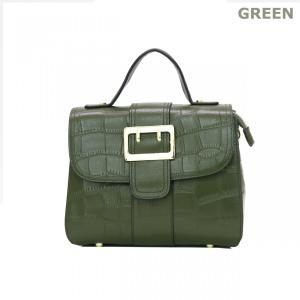 GUSCIO グッシオ 18-9195 2WAYハンドバッグ エレガンス 型押し本革|stylewebdirect