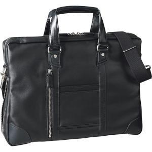 ヒルトンクラブ 帆布コート ビジネスブリーフ 黒 3205|stylewebdirect