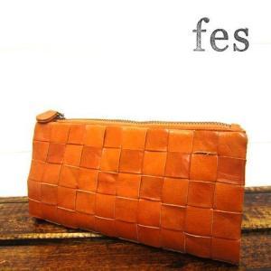 fes フェス 47329 長財布 カウレザーメッシュ長財布|stylewebdirect