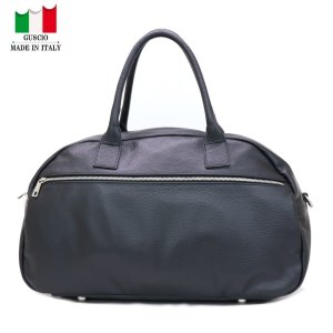 GUSCIO グッシオ 77-0136 シンプルボストンバッグ ショルダー付き|stylewebdirect