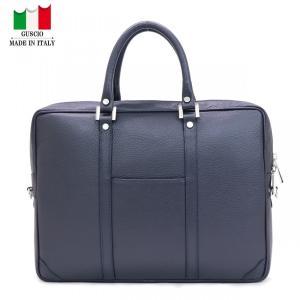 GUSCIO グッシオ 77-0138 ビジネス・ブリーフケース ショルダー付き|stylewebdirect