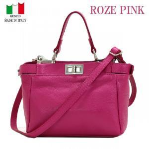 GUSCIO グッシオ 77-0160 2WAYハンドバッグ イタリア製|stylewebdirect