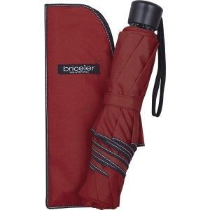 ブライスラー 65cm大判サイズ軽量カーボンミニ傘 ワイン BR658TS|stylewebdirect