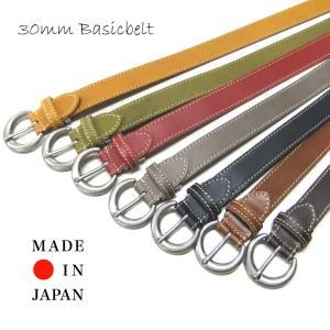 tachiya タチヤ E1082W 30mm ベーシックベルト 日本製|stylewebdirect