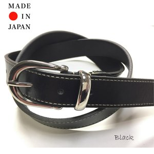 tachiya タチヤ H006AR 日本製一枚革メタルループベルト|stylewebdirect
