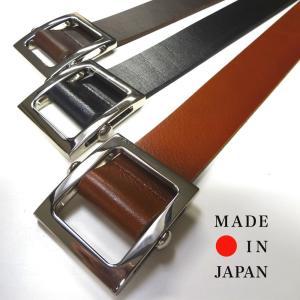 reccurence リクレンス I021AR 35mmスライダーバックルベルト 日本製|stylewebdirect