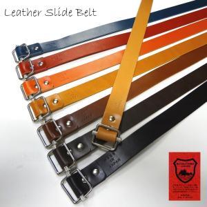 reccurence リクレンス NS0729I 栃木レザースライドベルト 日本製|stylewebdirect