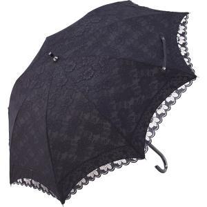 チェルベ 晴雨兼用二重張長傘ショートタイプ(UVカット)ブラック OBM-5177|stylewebdirect