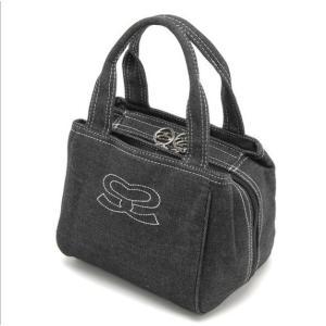 SAVOY サボイ デニム地のハンドバッグ SM070101|stylewebdirect