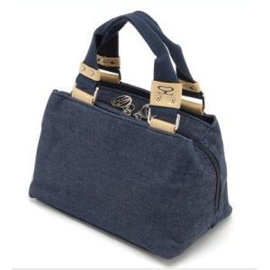 SAVOY サボイ SM070203 デニム地のハンドバッグ|stylewebdirect
